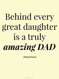 60 Father Daughter Quotes To dad from daughter. 60 quotes about father and daughter relationship. Find the perfect dad and daughter quotes to let your dad know that you appreciate what he's done for you. Quotes for Father's Day or just because. Famous Quotes About Fathers, Best Dad Quotes, Motivacional Quotes, Fathers Day Quotes, Girl Quotes, Funny Quotes, Father Birthday Quotes, Quotes About Family, Good Father Quotes