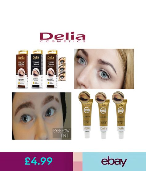 f5cf9c59808 Other Make-Up Delia Eyelash & Eyebrow Dye Tint Lash Kit Full Tinting Kit  With