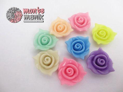 Monte Plastik Bunga Mawar Lancip Pla 039 Mawar Kerajinan