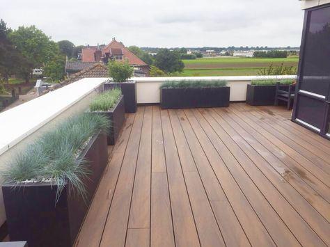 eva-last | composiet dakterras | composiet vlonderplanken - rooftop