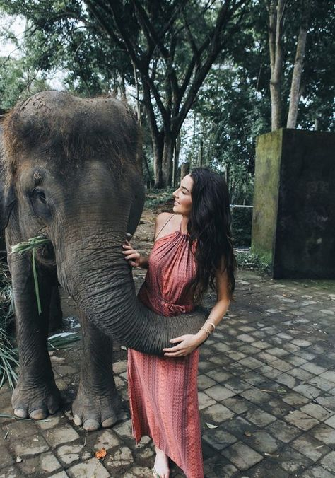 don't pass up getting an elephant hug HERE in Bali.