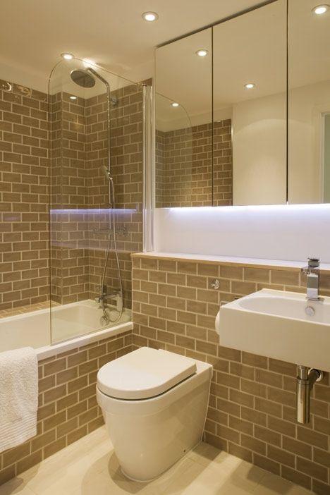 Slim House Bathroom 2 By Alma Nac Slim Is 2 3 Meters Wide 7 5 Feet This Room Is Apx 5 X 5 Gray Subway Bathroom Design Small Bathroom Bathroom Layout