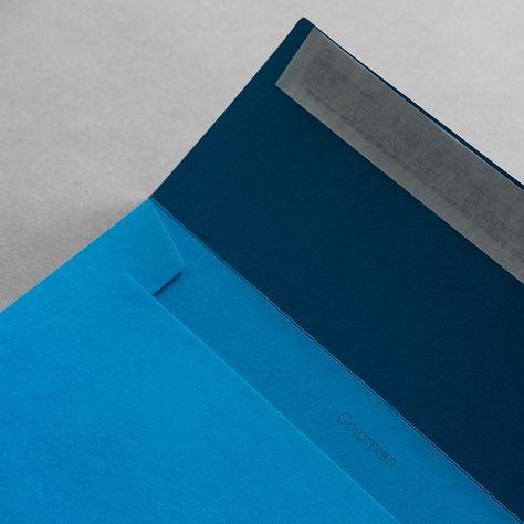 Colorplan Hüllen Din C5 Meerblau Meerblau Moodboard
