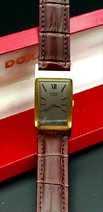 """Doxa - Curvis - Swiss made - """"NO RESERVE PRICE""""  - Homme - 1970-1979"""