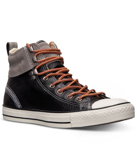 b75c249f9c18 Converse Men s Chuck Taylor All Star Hiker 2 Sneakers in Black Charcoal Gray  Size 11  49.98