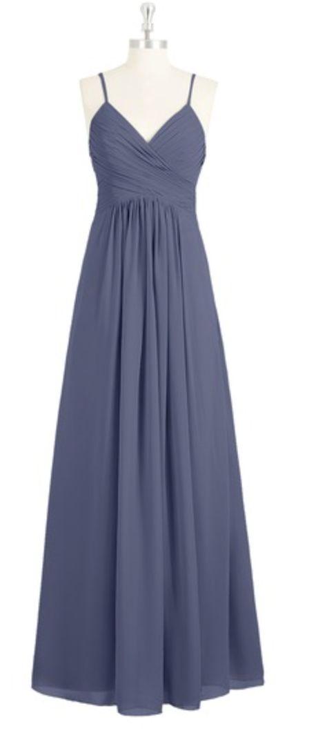 475055728f2 AZAZIE HALEIGH Bridesmaid Dress - Stormy