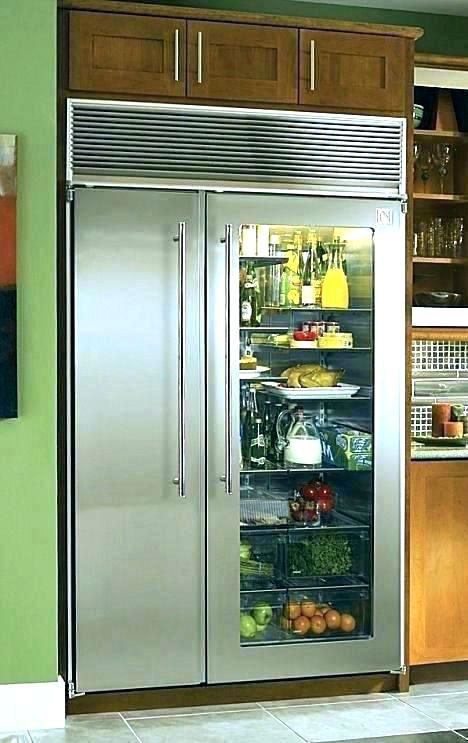 Commercial Refrigerator Freezer Combo With Ice Maker Wide Refrigerator Glass Door Refrigerator Home Kitchens Outdoor Kitchen Appliances