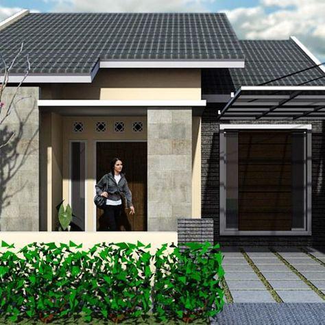 model rumah minimalis 2019 sederhana di kampung