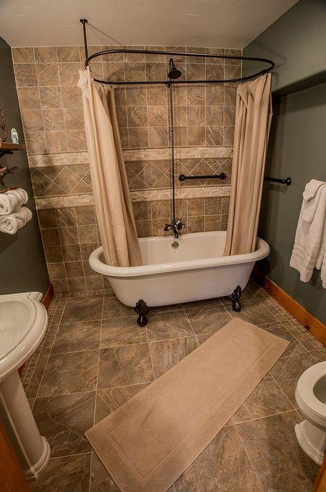 shower curtains clawfoot tub curtains