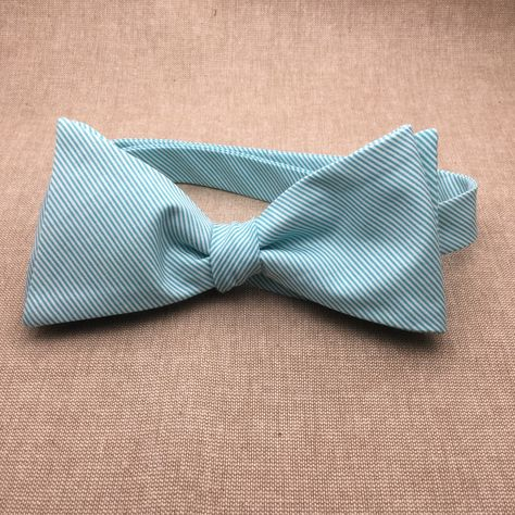 50c64476c8db Teal Striped Bow tie, Teal Green Self tie Bow tie, Matching Pocket Square, Bow  Tie for Groom & Groomsmen, BowTie for Wedding, Mens Bow tie