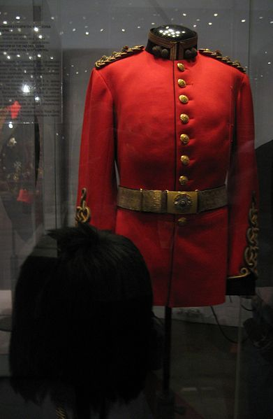 Nicholas II of Russia's Royal Scots Greys uniform.
