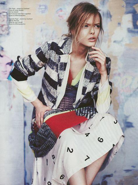 Helene Desmettre for Fiasco Magazine Photography: Rokas Darulis Styling: Nicole Freeman Set Design: Aurelie Taillefer Make up: Jennifer Mika Avins Hair: Show Fujimoto