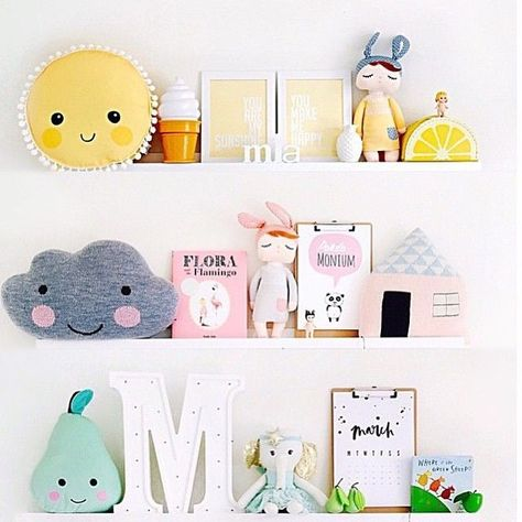 Tiny Little Pads - Interiors for Kids. Shelfie Inspiration! @tinylittlepads #tinylittlepads www.tinylittlepads.com