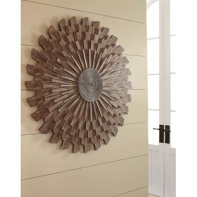 World Menagerie Sunburst Wood Wall Decor Sunburst Wall Decor Wood Wall Decor Decor