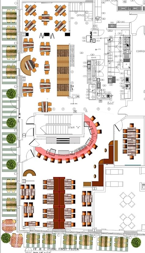 Renovating a bar restaurant and need a Floor Plan?