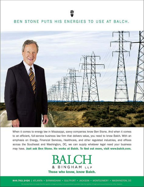 Balch Spotlight Office Ads - law firm marketing print - law firm brochure