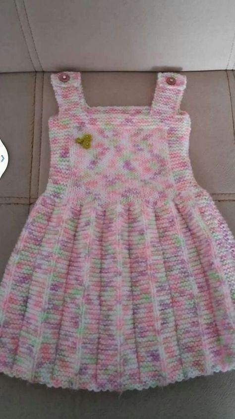 Pile Etekli Yapimi Kolay Jile Tarifi 2 3 Yas Baby Knitting Patterns Orgu Bebek Elbise Modelleri