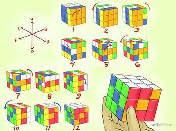 Gambar Berjudul Make Awesome Rubik S Cube Patterns Step 6 Rubiks Cube Patterns Cube Pattern Rubiks Cube