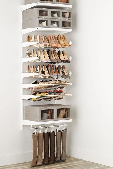 27 Awesome Shoe Rack Ideas Concepts For Storing Your Shoes Closet Entryway Diy Rotating Bedro Closet Shoe Storage Shoe Storage Design Shoe Storage Shelf