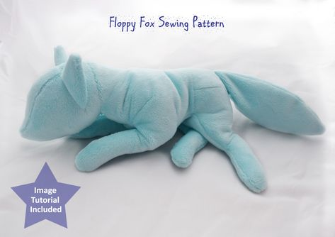 This listing is for a direct download of the digital PDF file for the Floppy Fox Sewing Pattern. A PDF including the url to the image tutorial is also included. The image tutorial was created and uploaded to the website Imgur. The tutorial includes many photographs showing the sewing