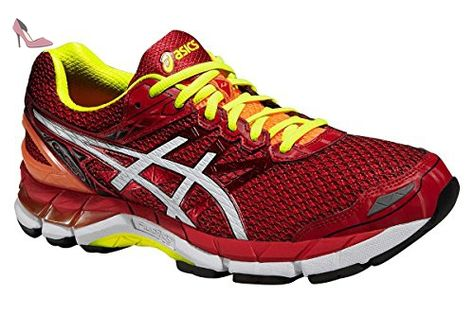 ASICS GEL GT 3000 4 ROUGE ET JAUNE Chaussures de running - Chaussures asics (*Partner-Link)
