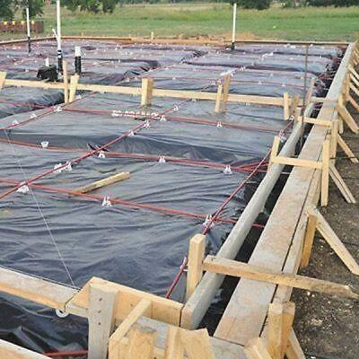 Ad Ebay Url 6 Mil Plastic Sheeting 12 X 100 Ft Black Extra Heavy Duty Coverall Vapor Barrier Pole Barn House Plans Building Foundation Luxury Floor Plans