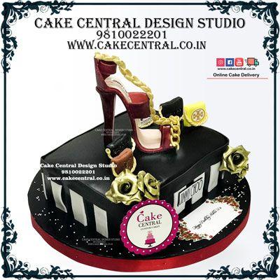 Prime Designer Shoe Cake High Heel Shoe Cake In Delhi Online Jimmy Funny Birthday Cards Online Kookostrdamsfinfo
