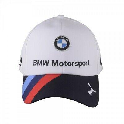 Ad Ebay Url Cap Hat Bmw Motorsport Team Merchandise Puma Shell Sponsor White Navy Peak Us Bmw Motorsport Bmw White