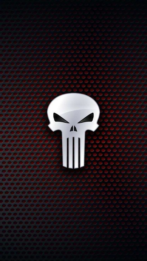 Iphone Wallpapers Wallpapers For Iphone Xs Iphone Xr And Iphone X Punisher Logo Iphone Wallpaper Punisher