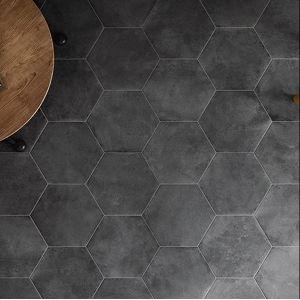 Carrelage Urban Hexagon Dark Avec Images Carrelage Carrelage Pas Cher Carrelage Hexagonal