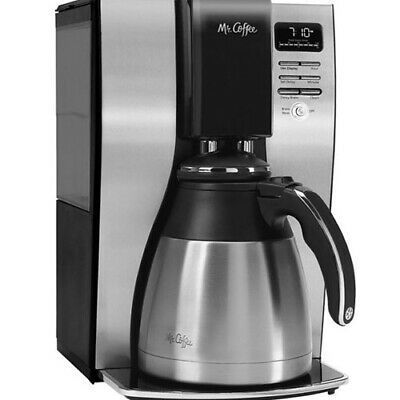 Mr Coffee 10 Cup Coffee Maker With Thermal Carafe Stainless