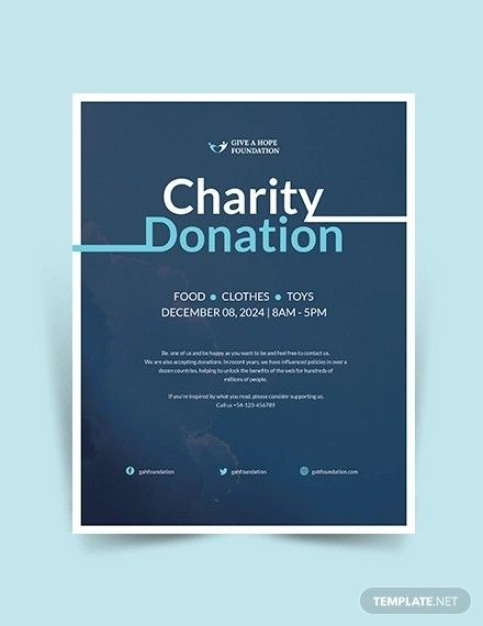 You can use your fresh web space not just for collecting funds and donations … Donation Flyer Template Free Download Five Things To Know About Donation Flyer Template Free Template Free Flyer Flyer Template