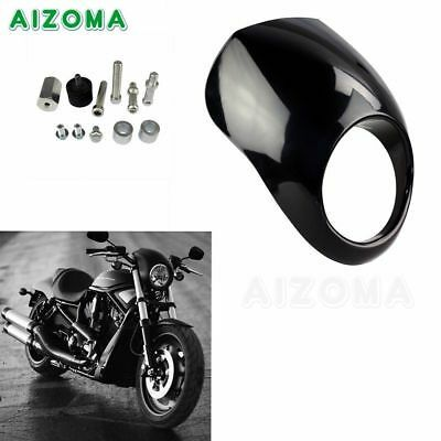 Advertisement Ebay Abs Front Headlight Fairing Mask Cowl Fork Mount For Harley Sportster Xl D In 2020 Motorcycle Parts And Accessories Motorcycle Headlight Sportster