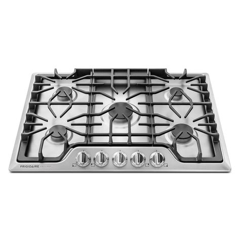 Ancona AN-21449 34 Gas Cooktop Stainless Steel