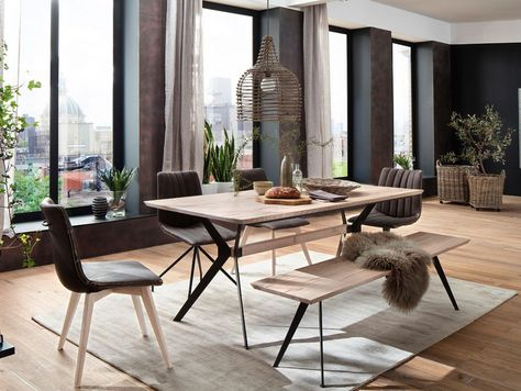 138 best Esszimmer images on Pinterest Dining room, Oak tree and - wohnzimmer petrol braun