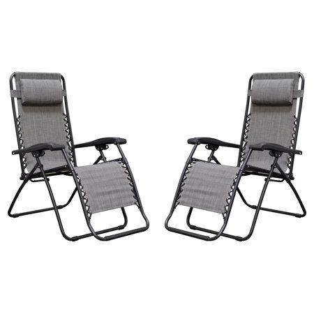 Superb Caravan Sports Infinity Zero Gravity Chair 2 Pack Gray Camellatalisay Diy Chair Ideas Camellatalisaycom