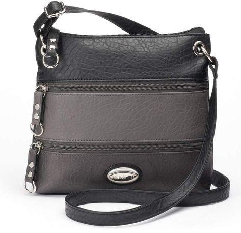 a3477c691a72 QZUnique Women s PU Sanddle Bag Studs Crossbody Handbag Hobo Access  Shoulder Bag