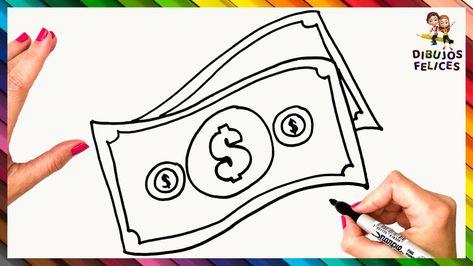 Como Dibujar Billetes De Dinero Dibujar Dinero Tutorial De Dibujo Como Dibujar Dibujo De Peppa Pig