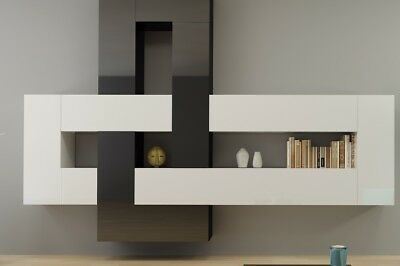 Details About Brin 1 Modern Living Room Entertainment Center Wall Unit For Tv Tv Stand In 2020 Modern Wall Units Living Room Entertainment Center Modular Furniture