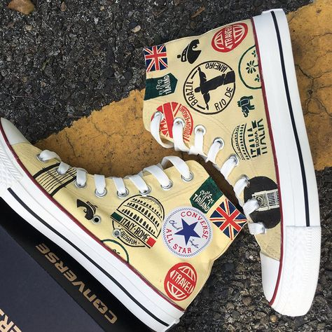Famous Landmarks Signs Converse