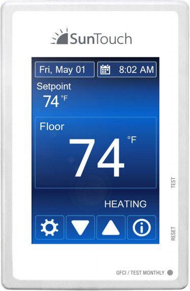 Radiant Floor Heating 3 X 15 Sq Under Flooring Heating System By Suntouch Flooringsupplyshop Com In 2020 Radiant Floor Heating