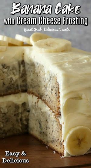 Cake With Cream Cheese, Home Made Cream Cheese, Cupcakes With Cream Cheese Frosting, Easy Desserts, Dessert Recipes, Delicious Desserts, Kinds Of Desserts, Yummy Food, Pound Cake Recipes