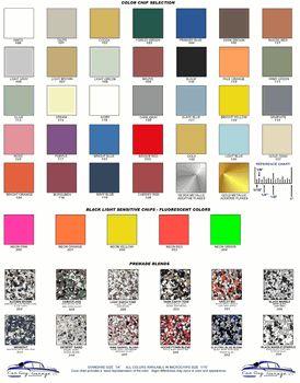 Epoxy Paint Chips Epoxy Paint Paint Chips Epoxy Floor Coating