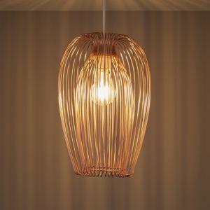 Jonas Copper Wire Light Shade D 220mm Copper Wire Lights Ceiling Lights Diy Wire Lights