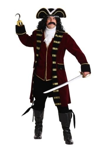 Halloween Costumes 2020 Deluxe Captain Deluxe Captain Hook Costume for Men #Sponsored #Captain