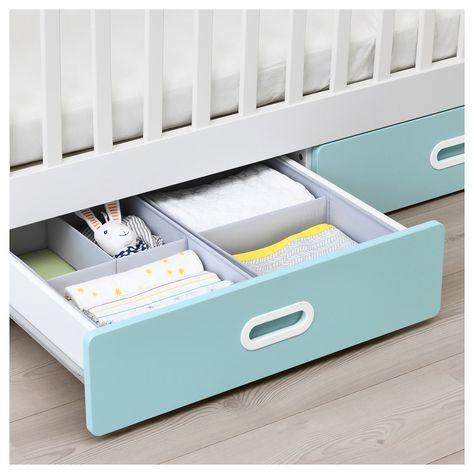 Stuva Fritids Kinderbett Mit Schubladen Hellblau Ikea