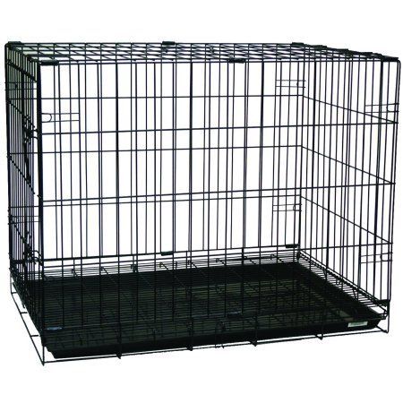 Yml Sa36g Pet Kennel With Wire Body And Plastic Tray Crates Large Dog Crate Cat Crate