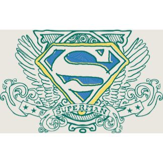 Superman Stylized Wings And Name Logo Superman Coloring Pages Superman Art Superman