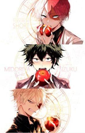 She's mine! - Izuku Midoriya, Shouto Todoroki, Katsuki