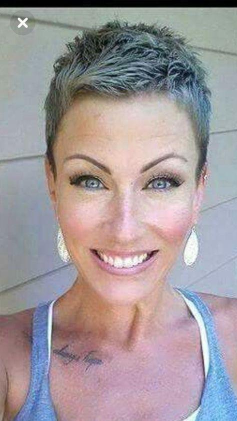 Short cut for women: #Cut #hairstyle #hairstyles #short #women